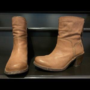 Tan Frye Boots